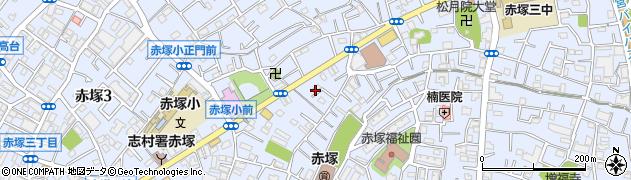 東京都板橋区赤塚周辺の地図