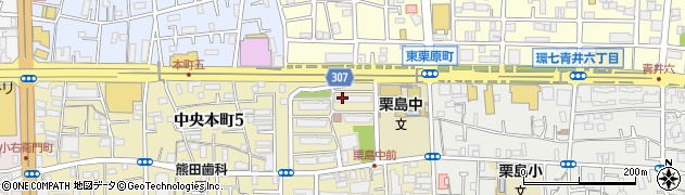 都営中央本町五丁目アパート周辺の地図
