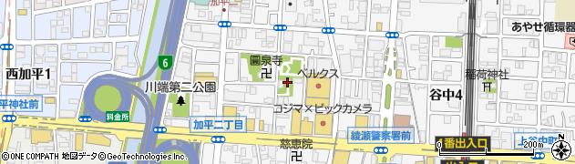天祖神社周辺の地図