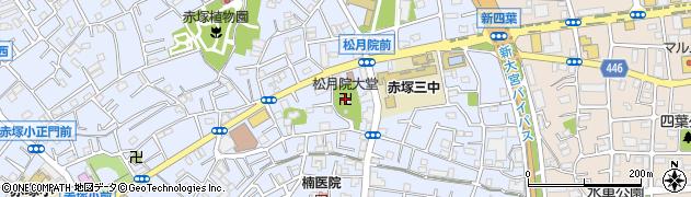 大堂周辺の地図