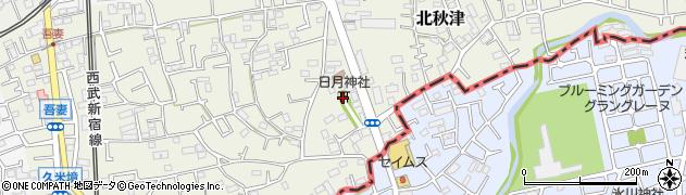 日月神社周辺の地図