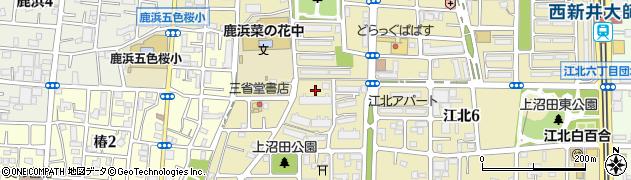 都営上沼田第3団地周辺の地図