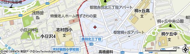 東京メガシティ周辺の地図