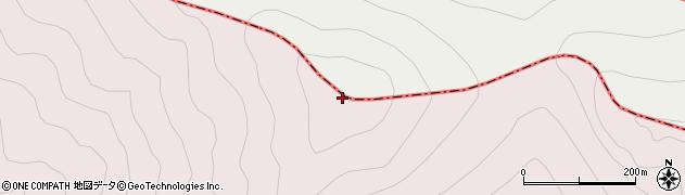 横岳周辺の地図