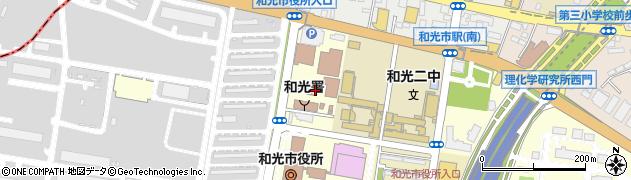 埼玉県和光市広沢周辺の地図