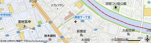 東京都板橋区東坂下周辺の地図