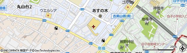 埼玉県和光市丸山台3丁目周辺の地図