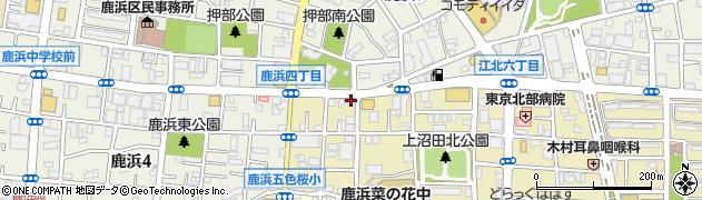 小僧寿し 江北店周辺の地図