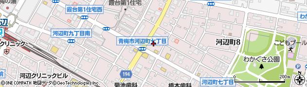 ドミノ・ピザ河辺店周辺の地図