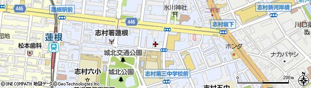 東京都板橋区坂下周辺の地図