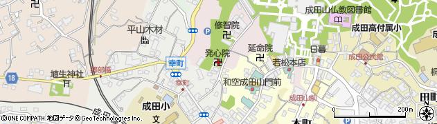 発心院周辺の地図