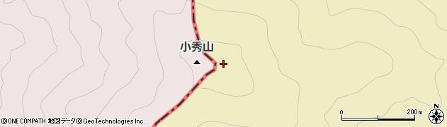 小秀山周辺の地図