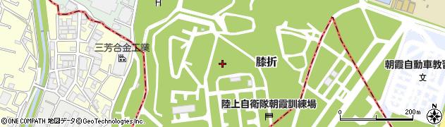 埼玉県朝霞市膝折周辺の地図