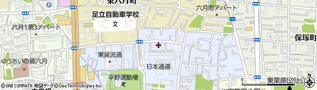 都営平野三丁目アパート18番地区周辺の地図