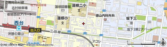 東久蓮根ハイツ周辺の地図