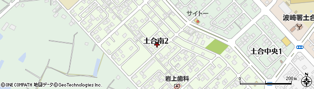 茨城県神栖市土合南周辺の地図