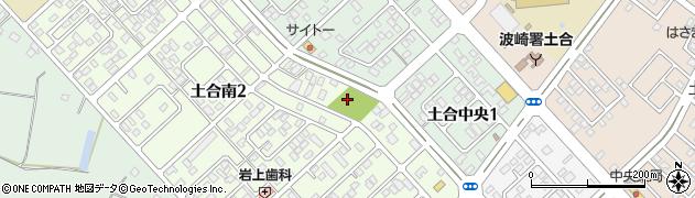 土合4号公園トイレ周辺の地図