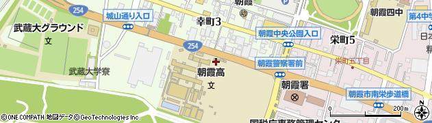 埼玉県朝霞市幸町周辺の地図