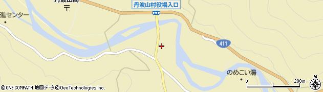 山梨県北都留郡丹波山村周辺の地図