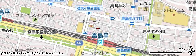 のしろ周辺の地図