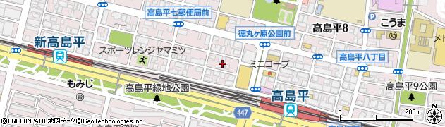 銀のさら 高島平店周辺の地図