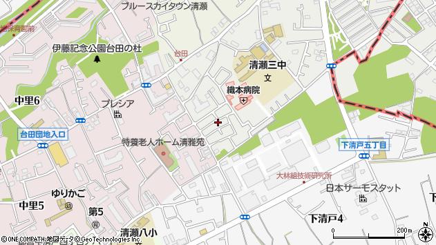 東京都清瀬市竹丘の郵便番号 -