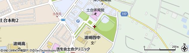 茨城県神栖市土合北周辺の地図