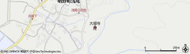 大福寺周辺の地図