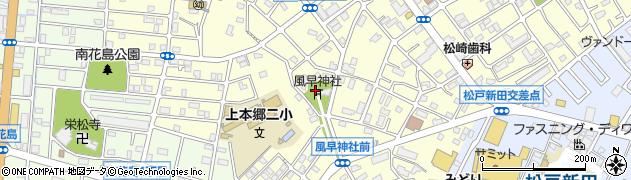 風早神社周辺の地図