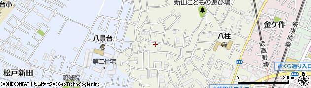千葉県松戸市千駄堀周辺の地図