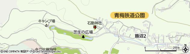 石動神社周辺の地図