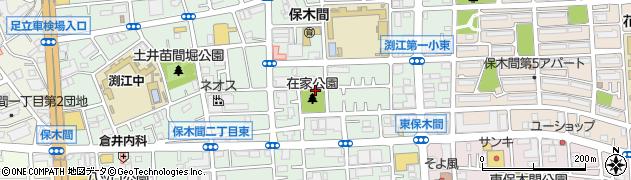 東京都足立区保木間3丁目周辺の地図