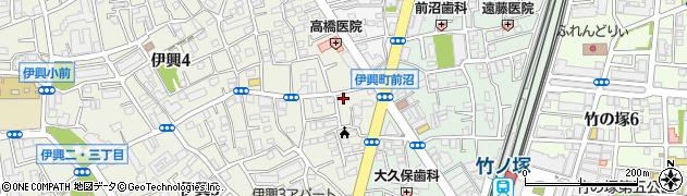 銀のさら 竹ノ塚店周辺の地図