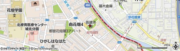 長建寺周辺の地図