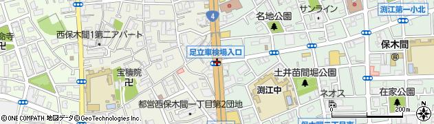 車検場通り周辺の地図