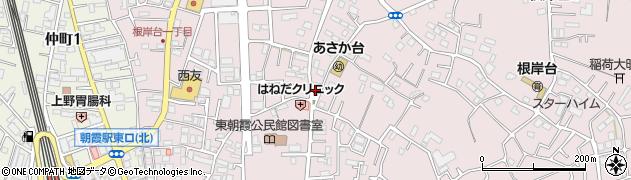 日英寺別院周辺の地図