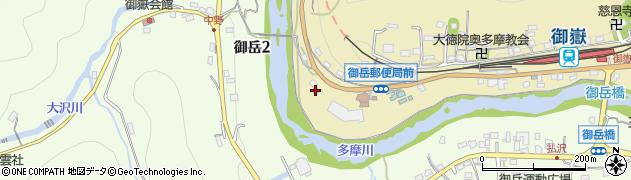 東京都青梅市御岳本町147周辺の地図