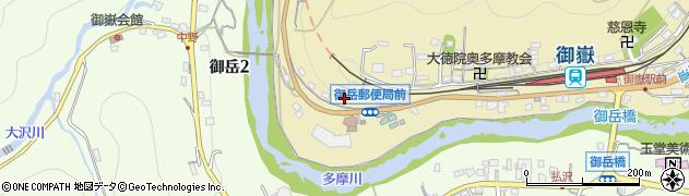 東京都青梅市御岳本町186周辺の地図