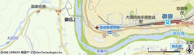 東京都青梅市御岳本町189周辺の地図