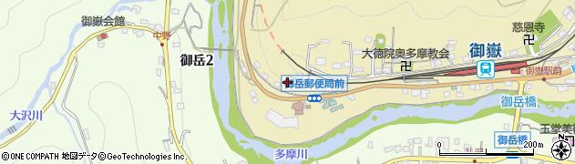 東京都青梅市御岳本町187周辺の地図