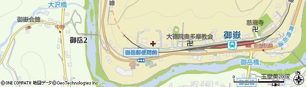 東京都青梅市御岳本町219周辺の地図