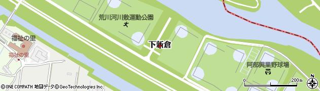 埼玉県和光市下新倉周辺の地図