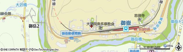 東京都青梅市御岳本町241周辺の地図