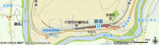 東京都青梅市御岳本町279周辺の地図