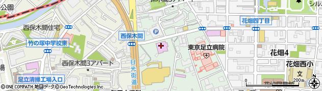 東京ましこ亭周辺の地図
