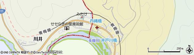 東京都青梅市御岳本町4周辺の地図