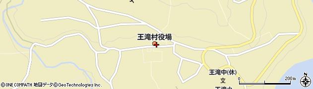 長野県木曽郡王滝村周辺の地図