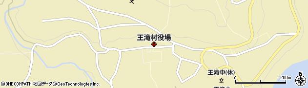 長野県王滝村(木曽郡)周辺の地図