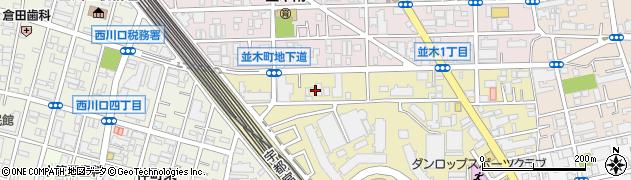 埼玉県川口市並木元町7-10周辺の地図