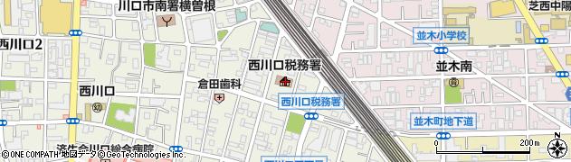 埼玉県川口市西川口4丁目6-18周辺の地図